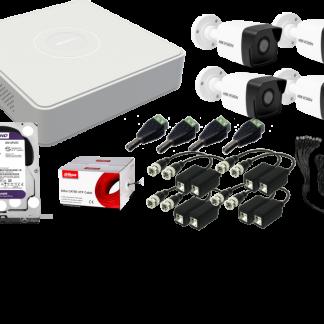 Hikvision analog kamera szett